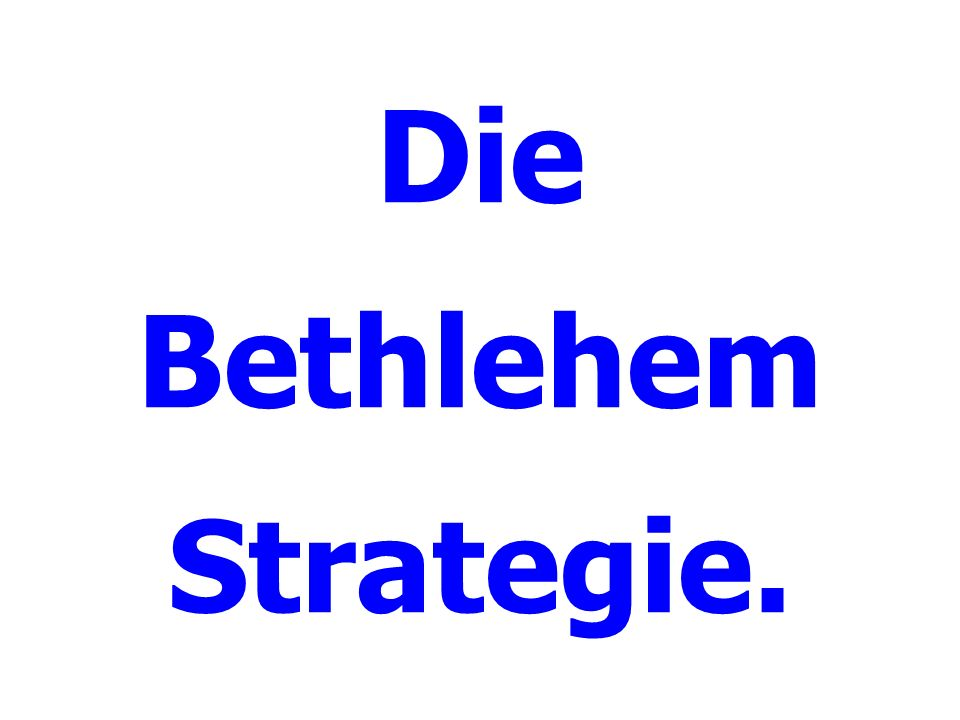 Der gute Stratege kennt den Feind.Worauf soll man sich besinnen.
