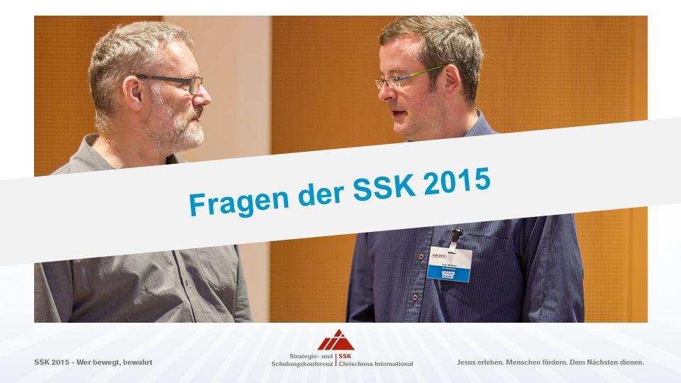 Fragen der SSK 2015