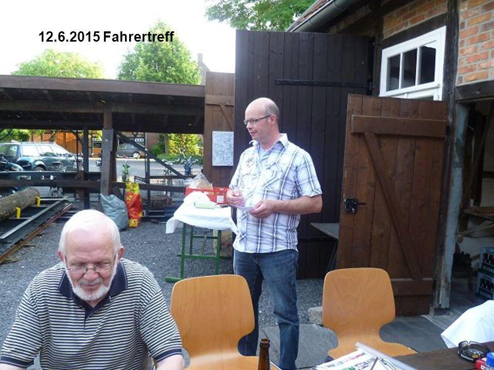 Dieter verlässt die Vorstandsrunde
