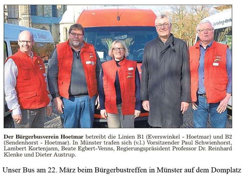 PHOTOS SPLENDIDES a u t o m a t i q u e Sind so müde wie icke Bürgerbus Bilder 2015