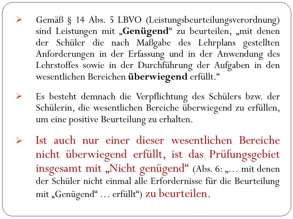  Gemäß § 14 Abs.