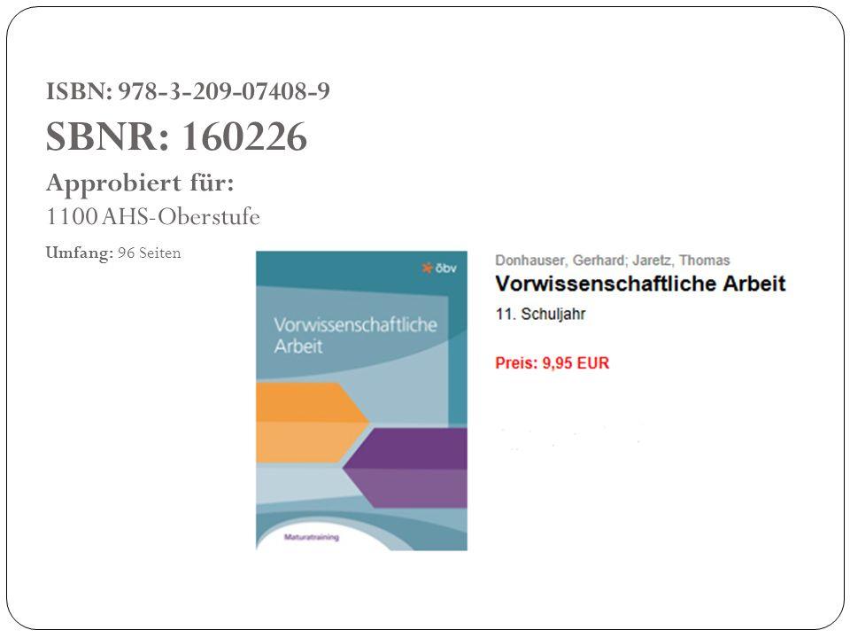 ISBN: 978-3-209-07408-9 SBNR: 160226 Approbiert für: 1100 AHS-Oberstufe Umfang: 96 Seiten
