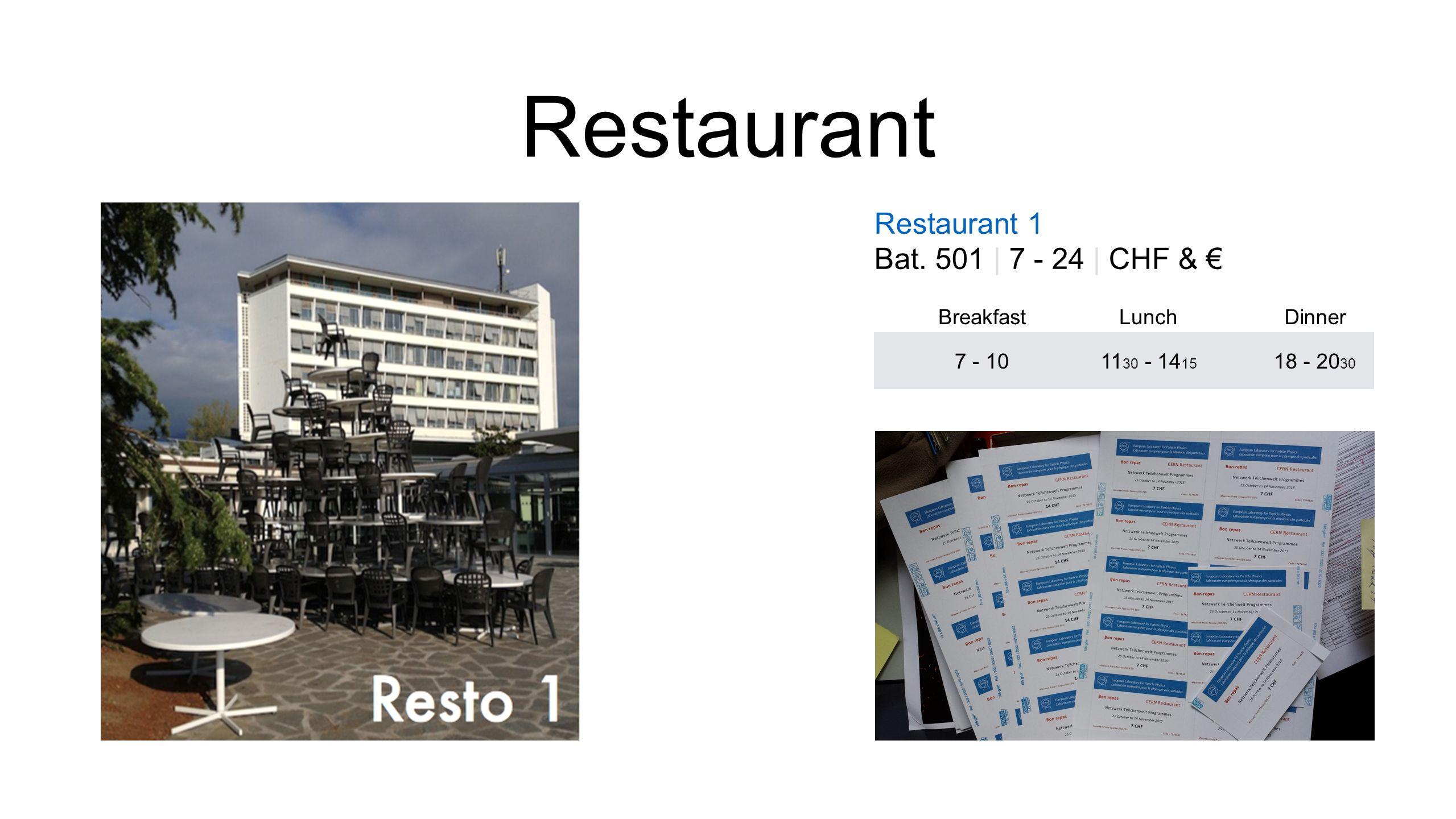 Restaurant Restaurant 1 Bat.