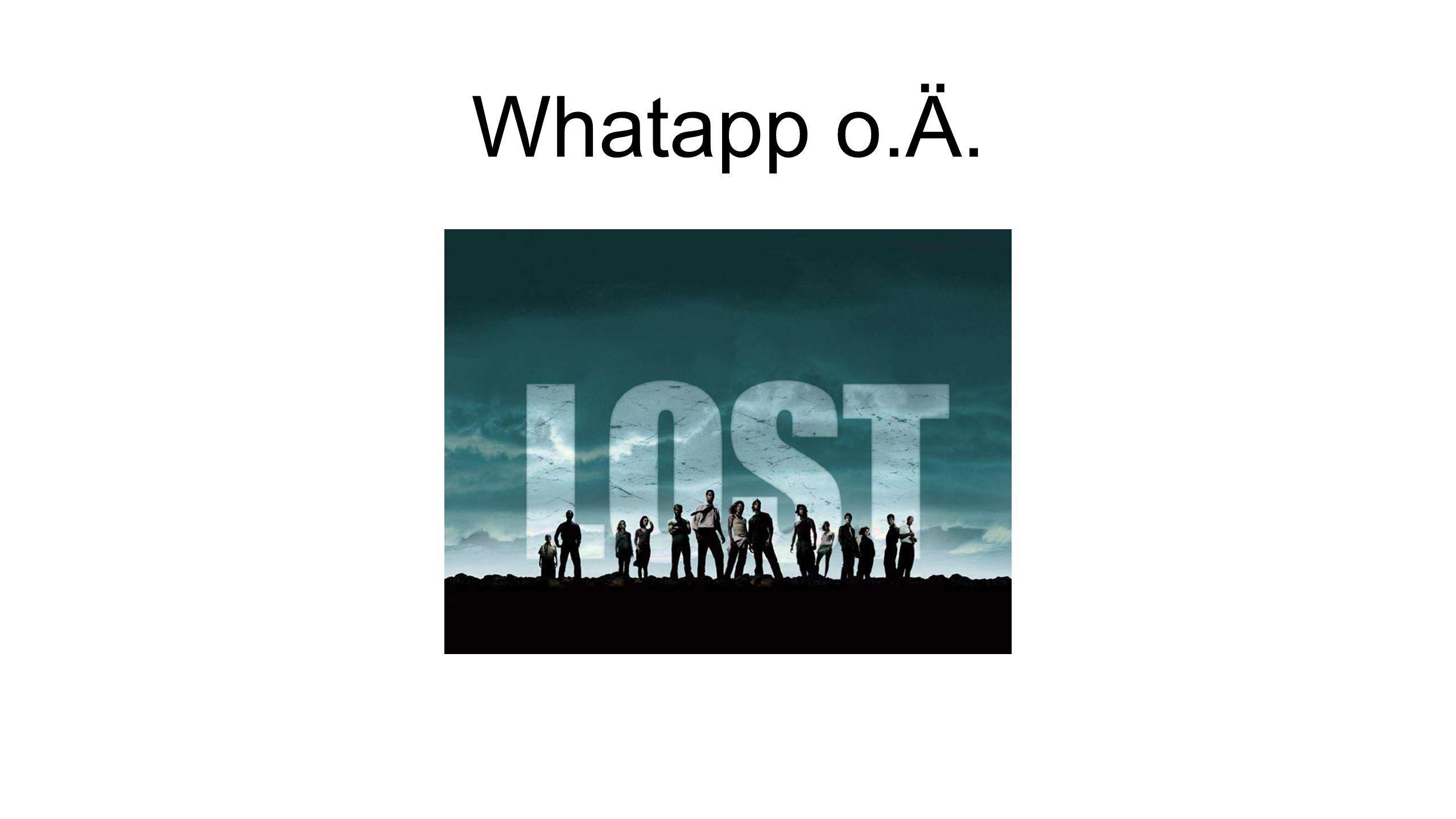 Whatapp o.Ä.