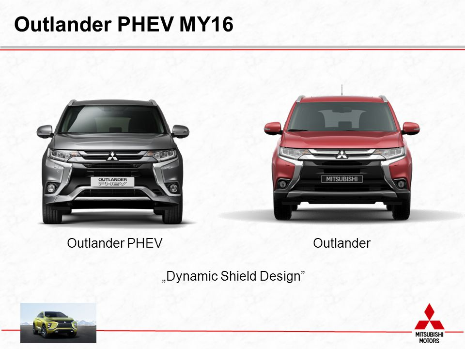 """Dynamic Shield Design"" Outlander PHEVOutlander"