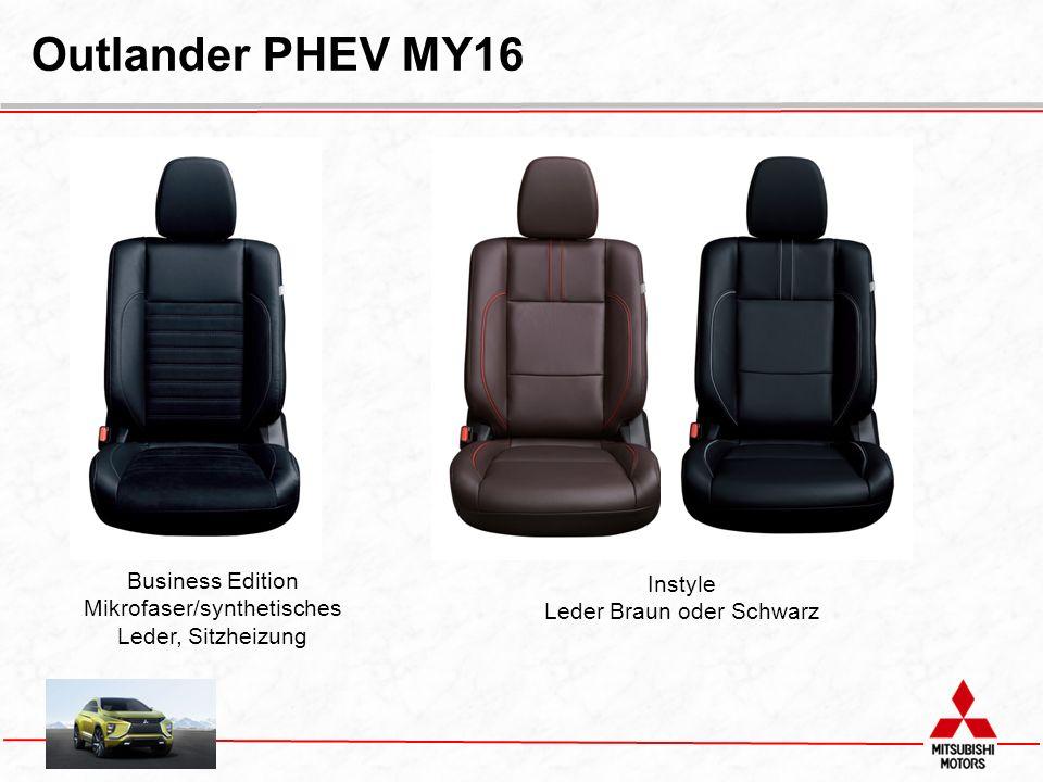 Business Edition Mikrofaser/synthetisches Leder, Sitzheizung Instyle Leder Braun oder Schwarz