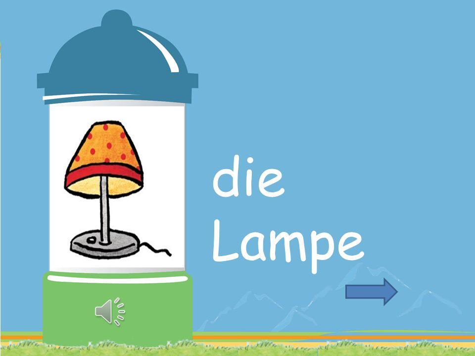 LAMPE GEHEN WILD ALS WISSEN
