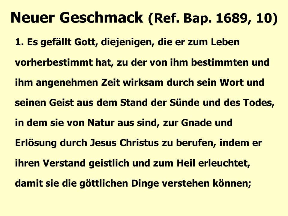 Neuer Geschmack (Ref.Bap. 1689, 10) 1.
