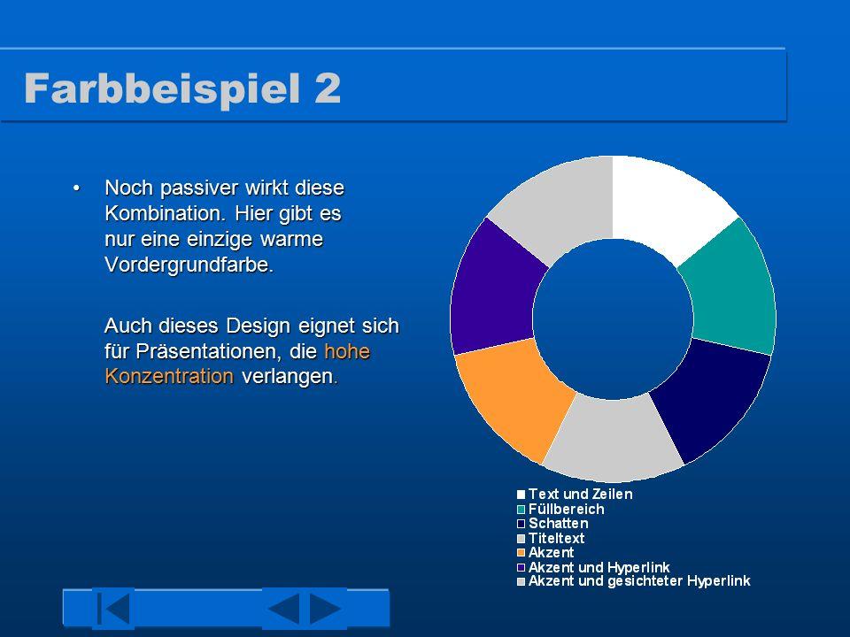 Farbbeispiel 1 Der klassische, blau verlaufende Hintergrund.Der klassische, blau verlaufende Hintergrund.