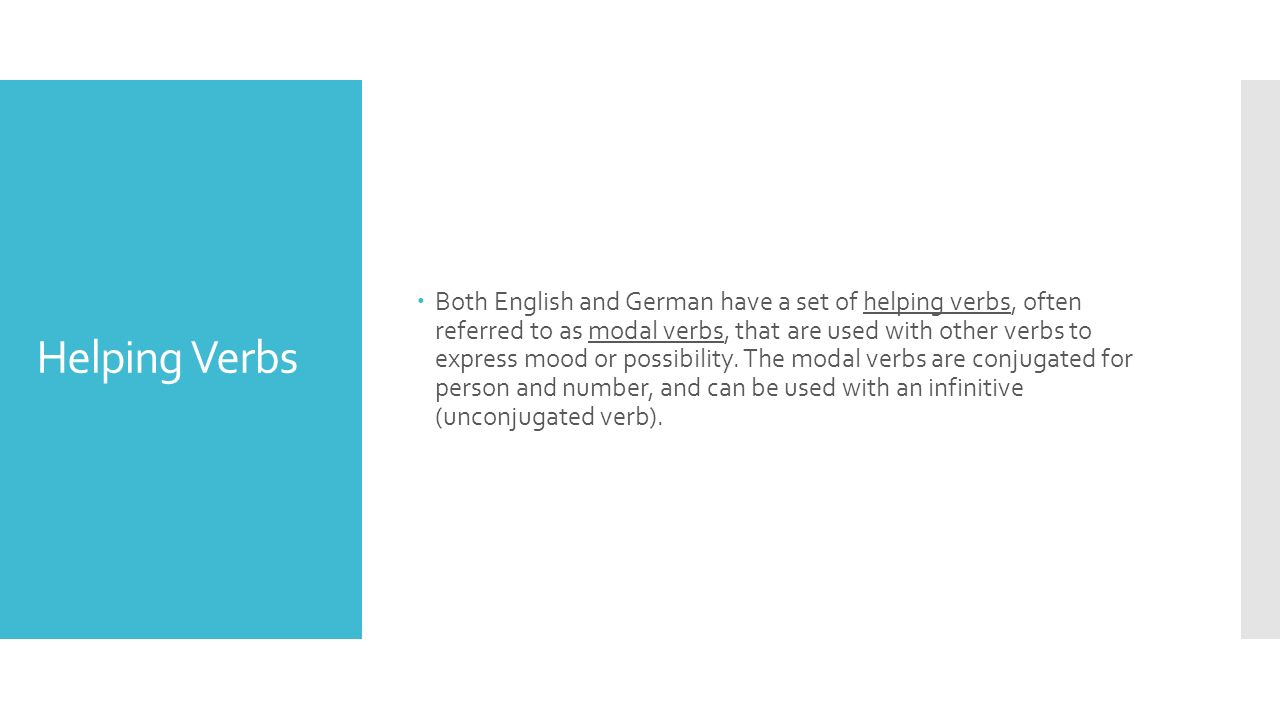 Frage: How do the helping verbs change the mood or possibility in these sentences using the infinitive gehen .