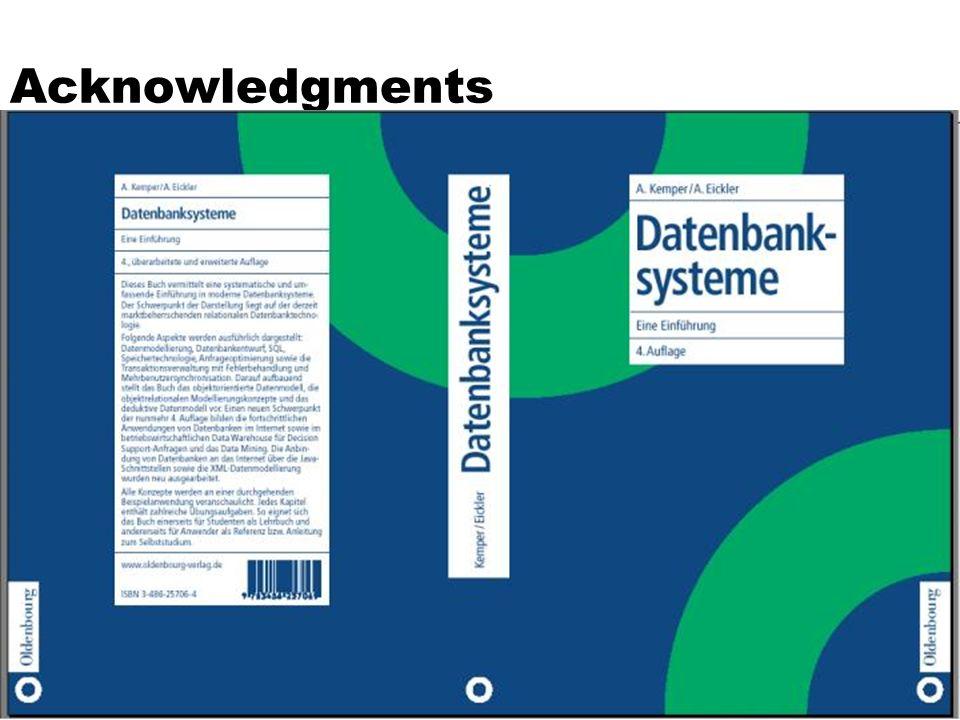 3 Konzepte objekt-relationaler Datenbanken  Große Objekte (Large OBjects, LOBs)]  Datentypen, die es erlauben, auch sehr große Attributwerte für z.B.