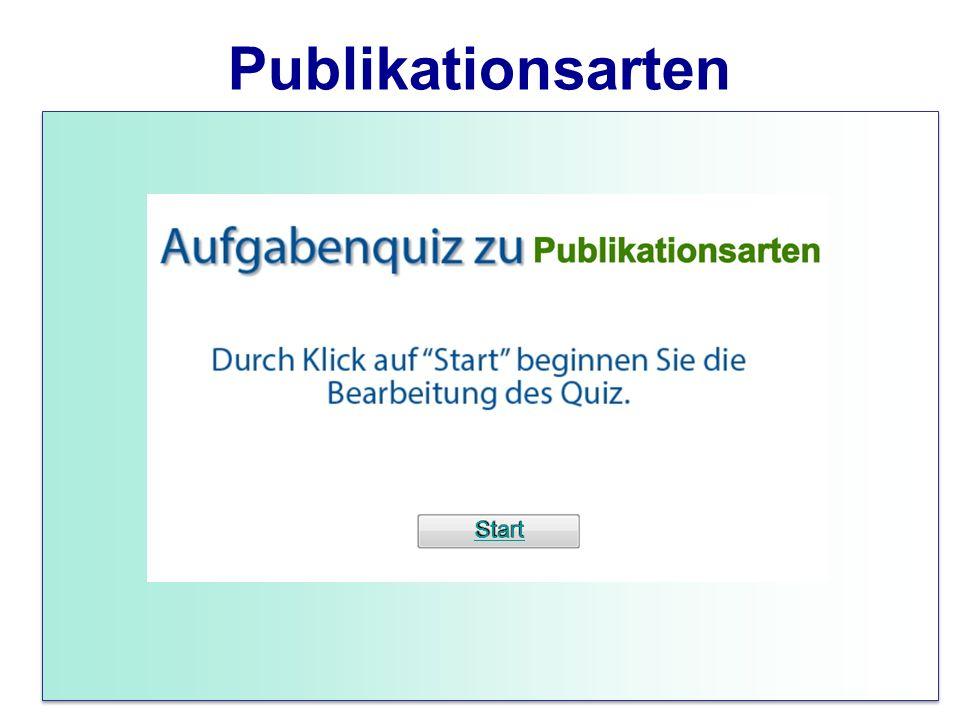Publikationsarten Start