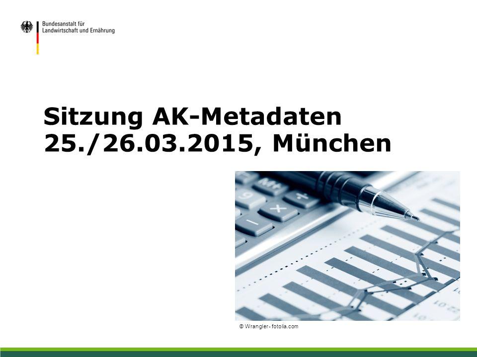 Sitzung AK-Metadaten 25./26.03.2015, München © Wrangler - fotolia.com