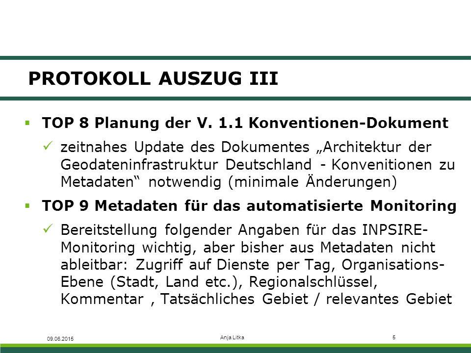 Anja Litka5 PROTOKOLL AUSZUG III  TOP 8 Planung der V.