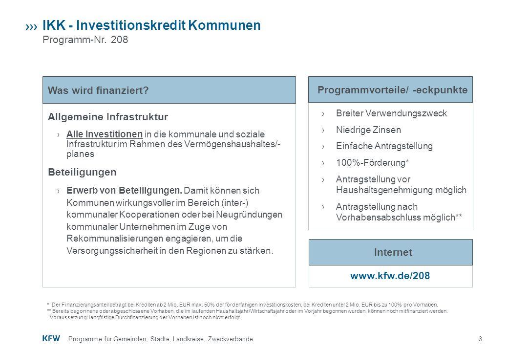 3 › Breiter Verwendungszweck › Niedrige Zinsen › Einfache Antragstellung › 100%-Förderung* › Antragstellung vor Haushaltsgenehmigung möglich › Antrags