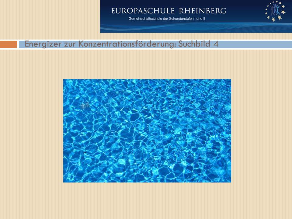 Energizer zur Konzentrationsförderung: Suchbild 4