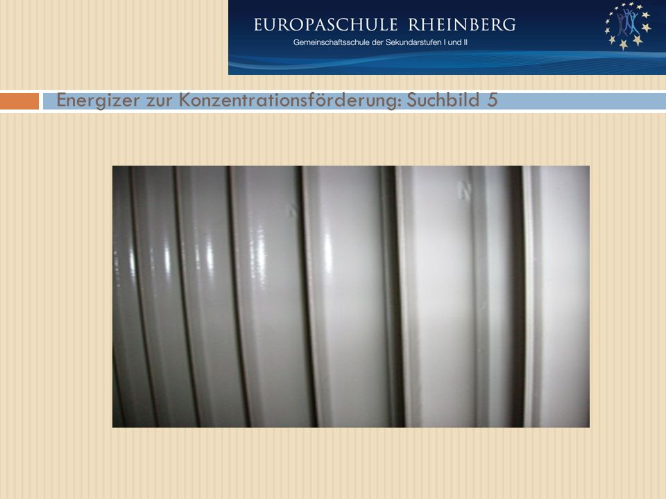 Energizer zur Konzentrationsförderung: Suchbild 5