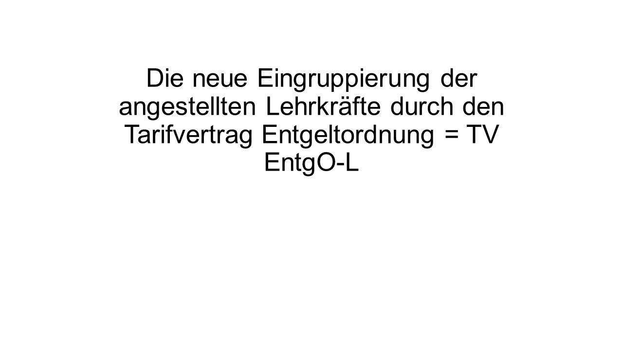 Anwendungsbereich des TV EntgO-L MSW Position = TV EntgO-L ersetzt Erfüller – und Nichterfüller-Erlasse, die zum 1.8.2015 aufgehoben worden sind.