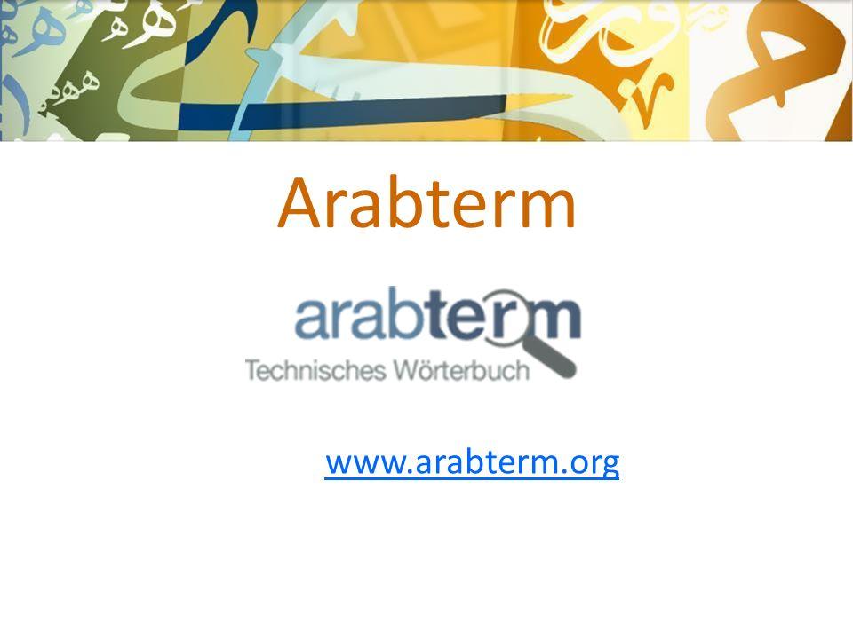 Arabterm www.arabterm.org
