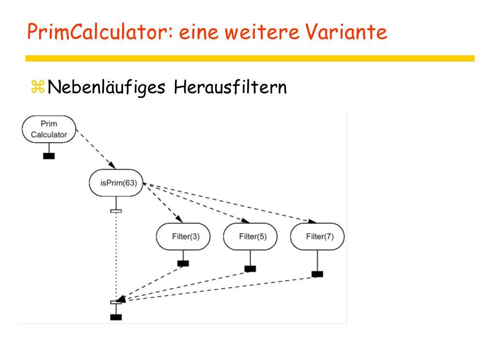 PrimCalculator: eine weitere Variante zNebenläufiges Herausfiltern