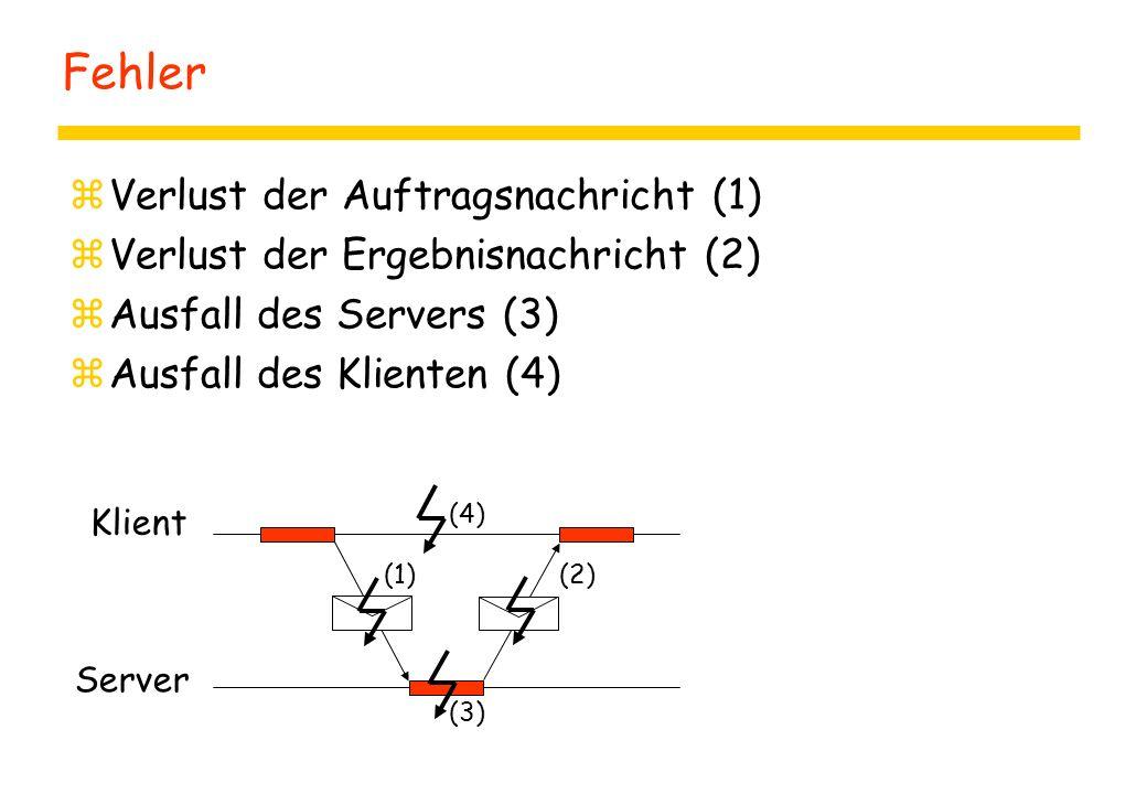 Nebenläufigkeit und Verteilung: Handler zpublic class Handler extends Thread { ypublic Handler() { this.start() } yPublic void run() { System.out.println ( Doing some work... ); try{ Thread.sleep(1000); } catch (...
