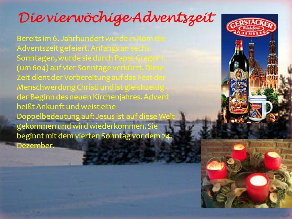 Nikolaus komm in unser Haus… Am 6.Dezember feiert man in Deutschland den Nikolaustag.