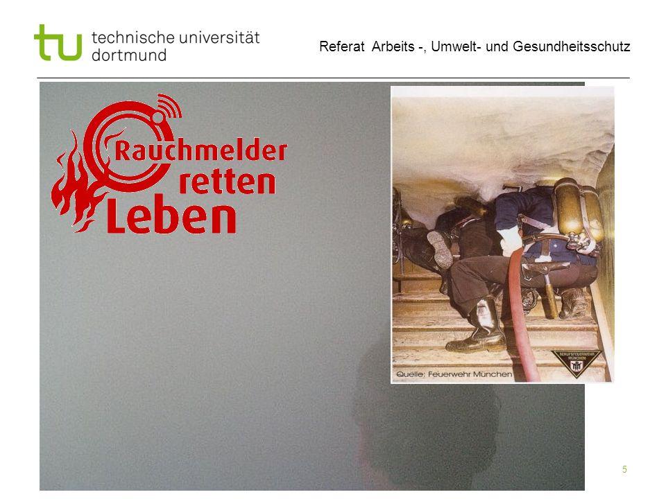 Uwe Tepe, 09.07.2012 Referat Arbeits -, Umwelt- und Gesundheitsschutz Rauchmelder 6