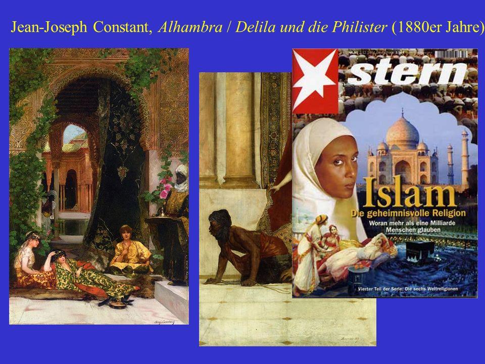 Jean-Joseph Constant, Alhambra / Delila und die Philister (1880er Jahre)