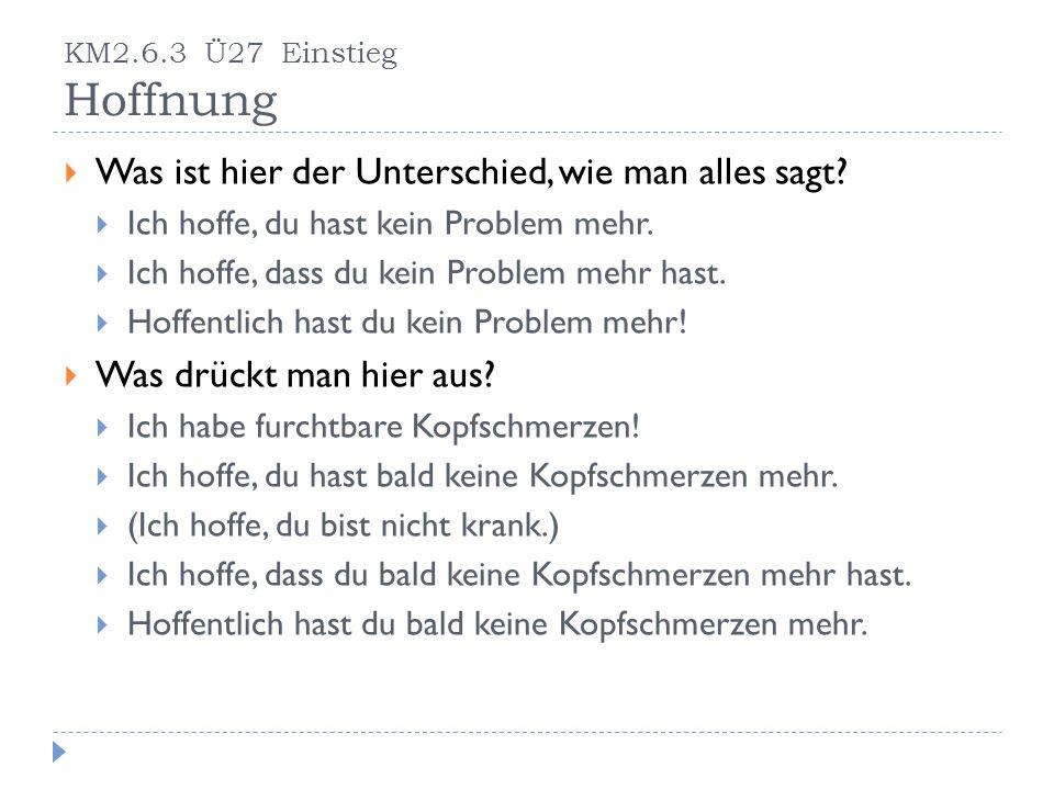 Wie kann man diese Sätze anders auf Deutsch ausdrücken.