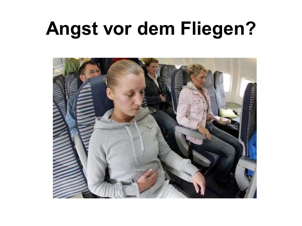 Angst vor dem Fliegen?
