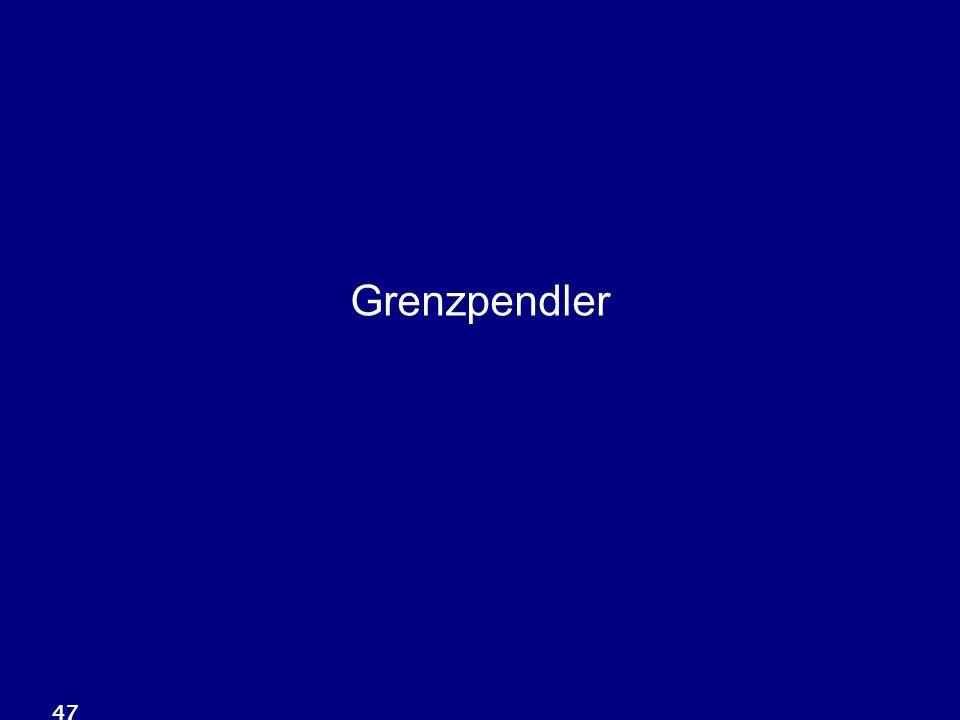 47 Grenzpendler