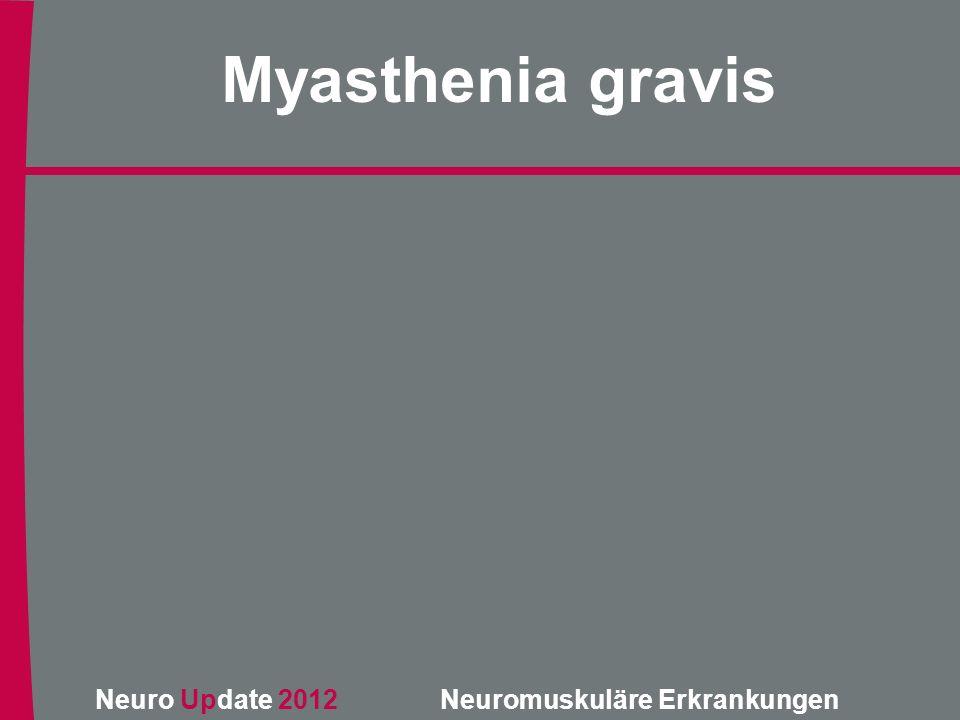 Neuro Update 2012 Neuromuskuläre Erkrankungen Metabolische Myopathien