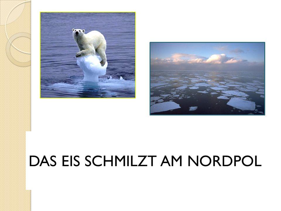 DAS EIS SCHMILZT AM NORDPOL