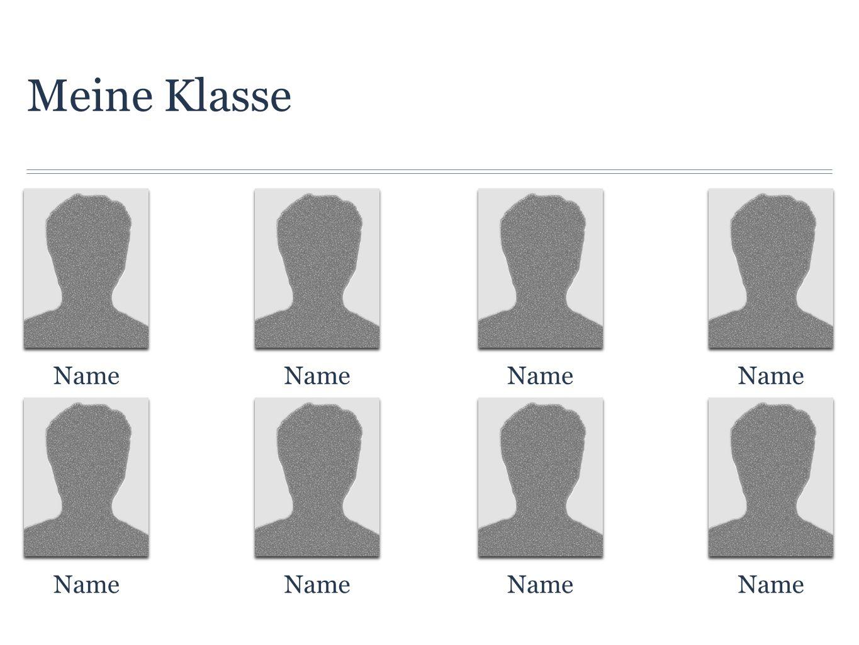 Meine Klasse Name