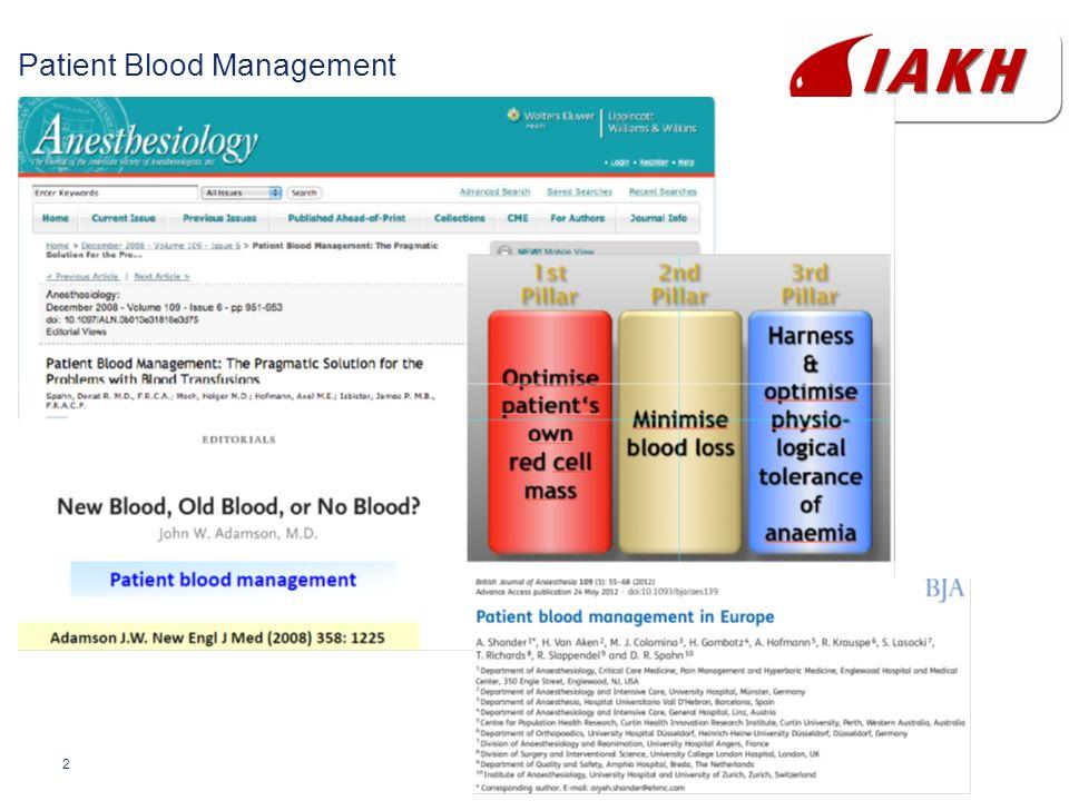 2 Patient Blood Management