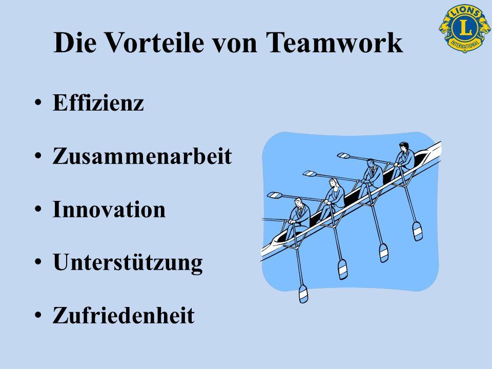 Die Vorteile von Teamwork Effizienz Zusammenarbeit Innovation Unterstützung Zufriedenheit