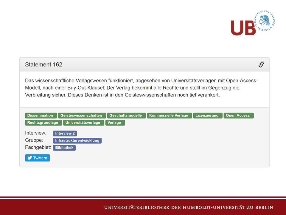 Ben Kaden Projektmitarbeiter Tel.: +49 (0)30 2093-99240 Fax: +49 (0)30 2093-99311 ben.kaden@ub.hu-berlin.de Anprechpartner Michael Kleineberg Projektmitarbeiter Tel.: +49 (0)30 2093-99240 Fax: +49 (0)30 2093-99311 michael.kleineberg@ub.hu-berlin.de