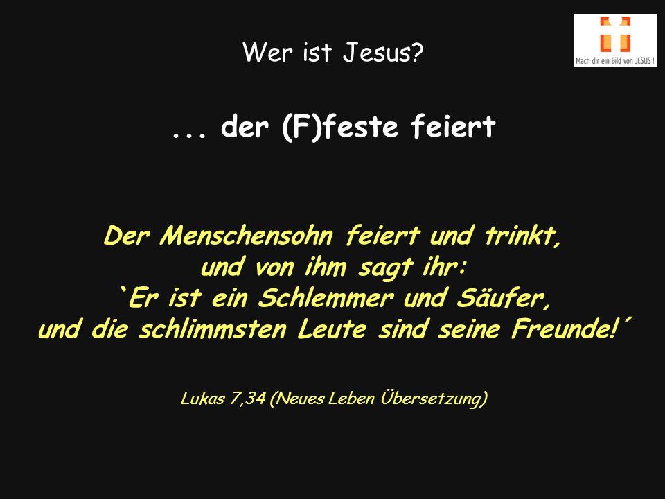 Wer ist Jesus ...