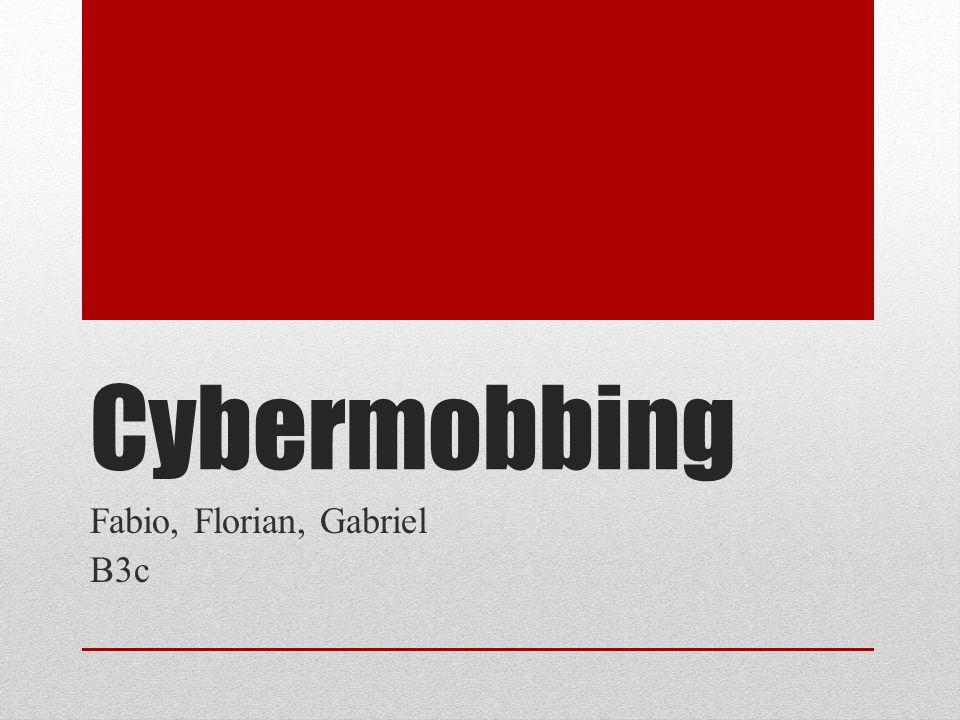 Cybermobbing Fabio, Florian, Gabriel B3c