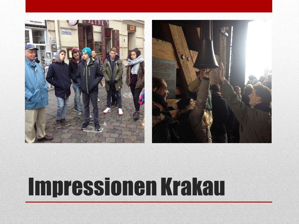 Impressionen Krakau