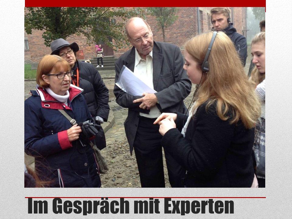 Im Gespräch mit Experten