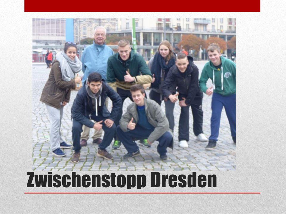 Zwischenstopp Dresden