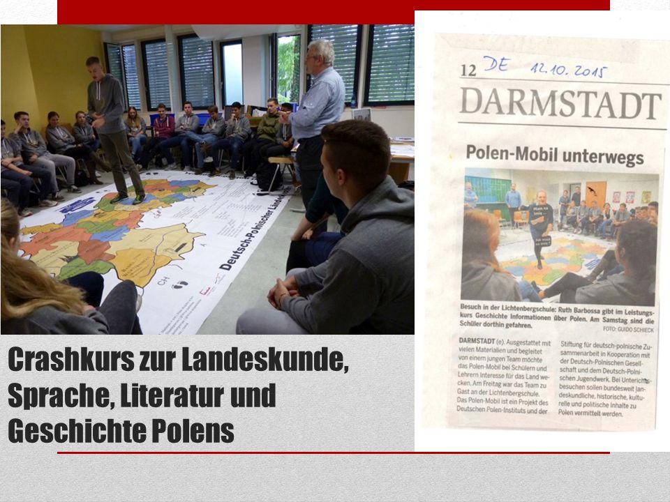 Crashkurs zur Landeskunde, Sprache, Literatur und Geschichte Polens