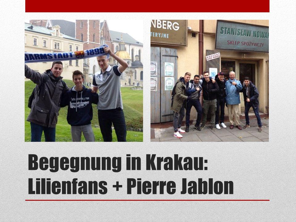 Begegnung in Krakau: Lilienfans + Pierre Jablon