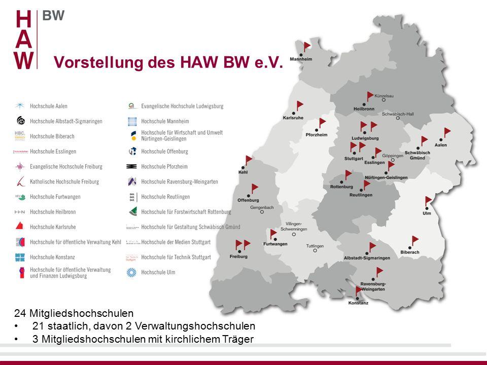 Vorstellung des HAW BW e.V.