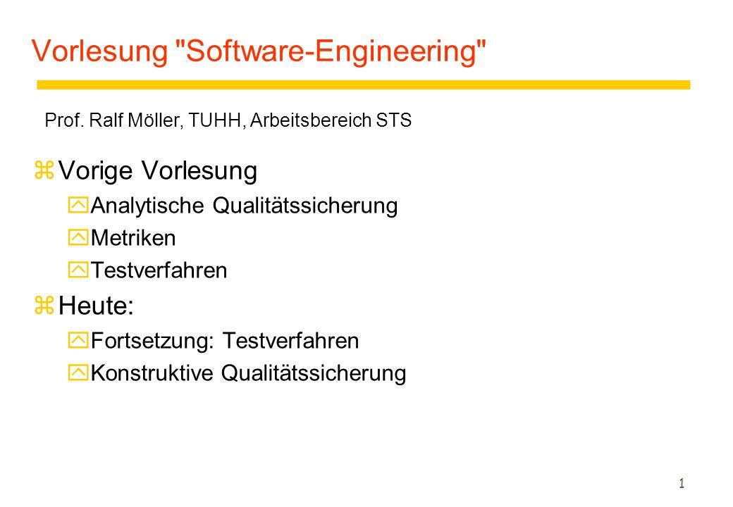 42 Zusammenfassung zJunit yEinfaches Framework für den Unit-Test von Java- Programmen.