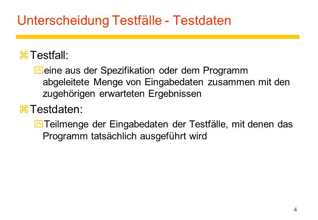 35 TestSuite [2/5]  Um eine Testsuite zu definieren, ist ein TestSuite Objekt zu bilden und mittels der addTestSuite Methode verschiedene Testfallklassen hinzuzufügen.