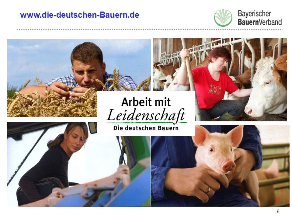 10 Spezielle Informationsangebote www.bayerischerbauernverband.dewww.die-deutschen-Bauern.de