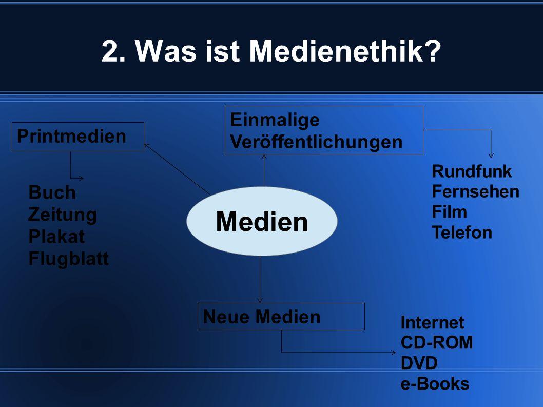 2.Was ist Medienethik.