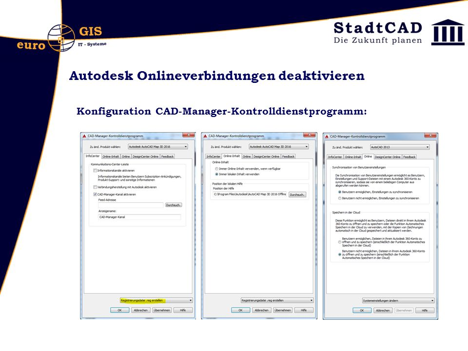 Gauss-Krüger Daten nach UTM transformieren http://geospatialnavigator.typepad.com/geospatial_navigator/ 2012/06/gk-koordinaten-nach-utmetrs89-umrechnen-in- autocad-map-3d-2013.html